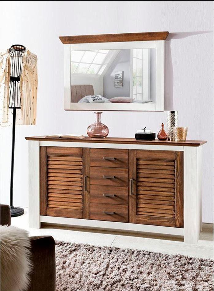 Home affaire Sideboard »Laguna« mit 4 Türen und 2 Schubladen, Breite 174 cm
