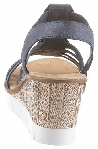 Rieker Sandalette, mit Pailletten