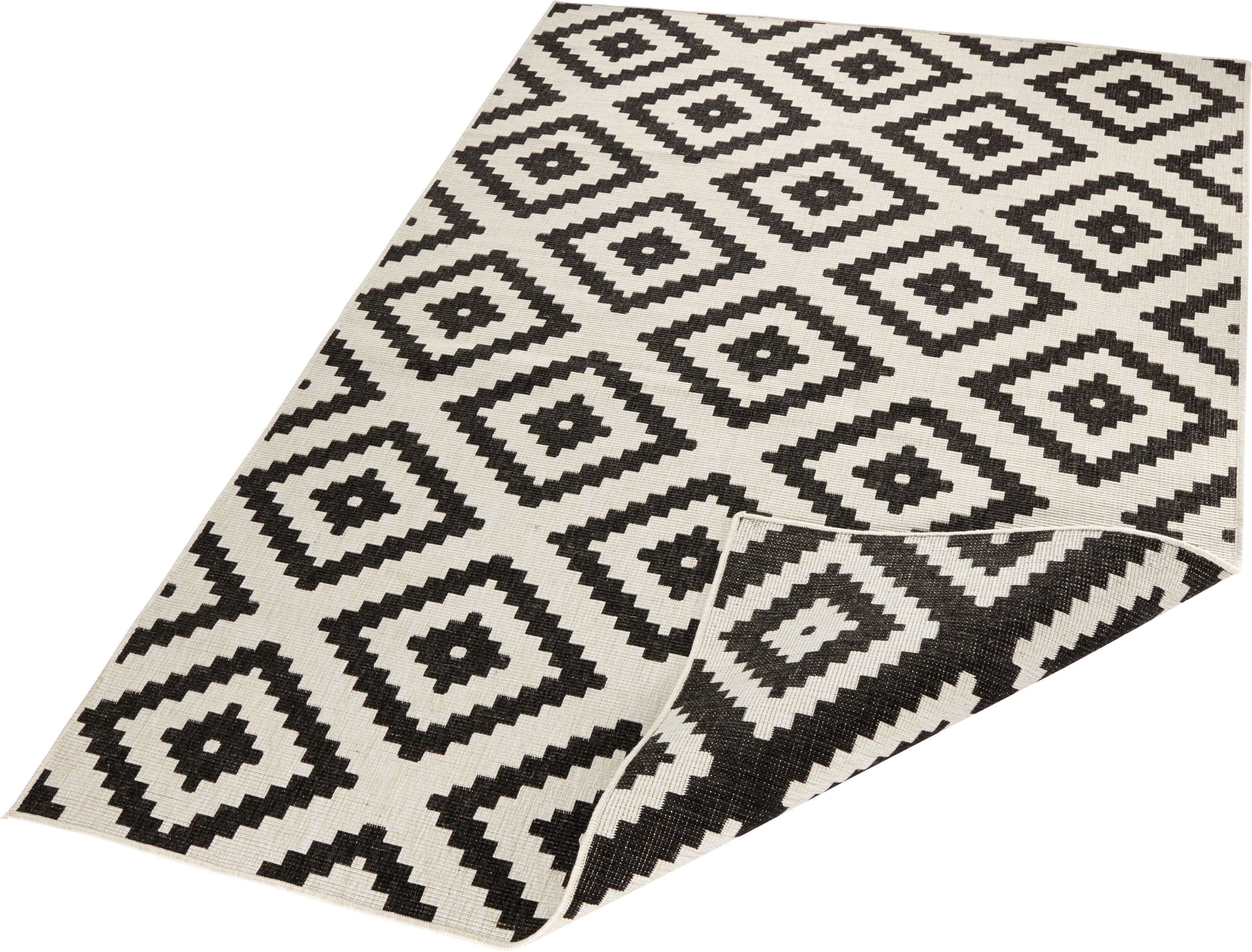 Teppich »Malta«, bougari, rechteckig, Höhe 5 mm, Wendeteppich