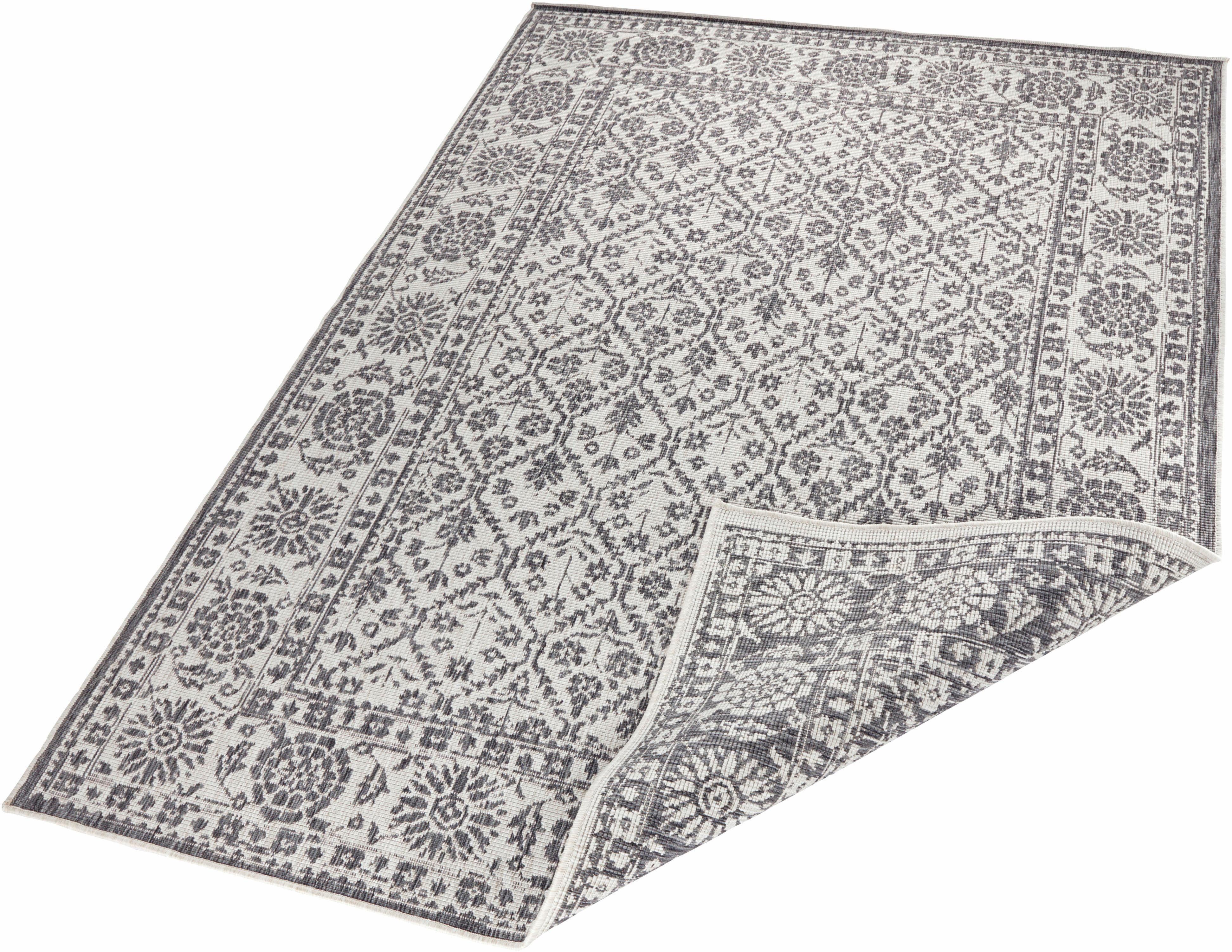 Teppich »Curacao«, bougari, rechteckig, Höhe 5 mm, In- und Outdoor geeignet, Wendeteppich