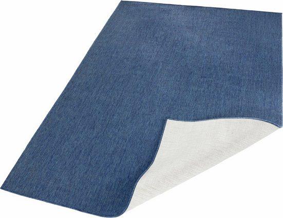 Teppich »Miami«, bougari, rechteckig, Höhe 5 mm, In- und Outdoor geeignet, Wendeteppich