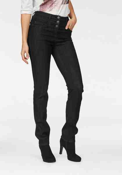 "Cheer High-waist-Jeans »""Carmen""«, auch in Extra-Kurz Größe"