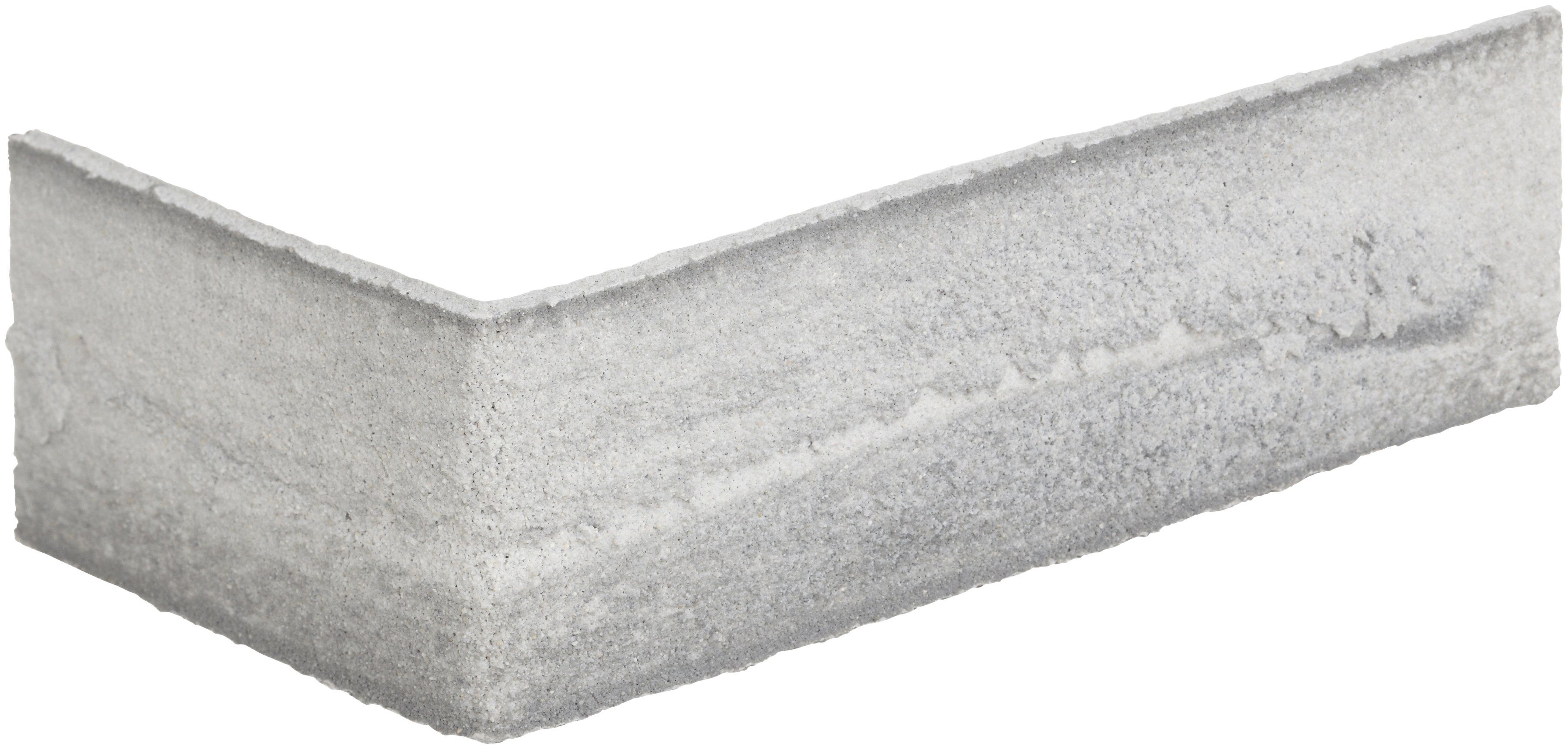 ELASTOLITH Verblender »Nebraska «, Eckverblender grau, für Innen- und Aussenbereich, 2 Lfm