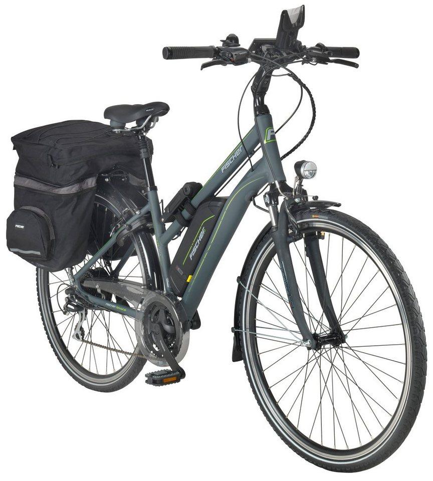 fischer fahrraeder e bike trekking damen etd1806 71 12. Black Bedroom Furniture Sets. Home Design Ideas