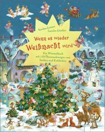 Buch mit Papp-Einband »Wenn es wieder Weihnacht wird«