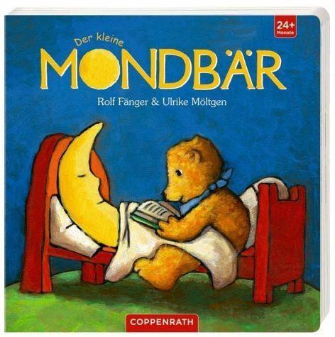 Buch mit Papp-Einband »Der kleine Mondbär«