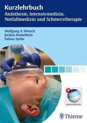 Audio CD mit DVD »Kurzlehrbuch Anästhesie, Intensivmedizin,...«