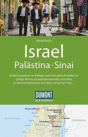 Broschiertes Buch »DuMont Reise-Handbuch Reiseführer Israel,...«