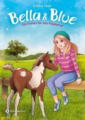 Gebundenes Buch »Ein Fohlen für den Fliederhof / Bella & Blue Bd.4«