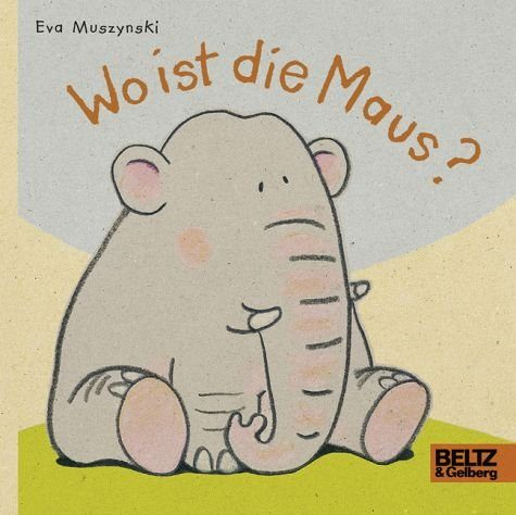 Buch mit Papp-Einband »Wo ist die Maus?«