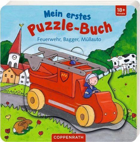 Buch mit Papp-Einband »Mein erstes Puzzle-Buch«