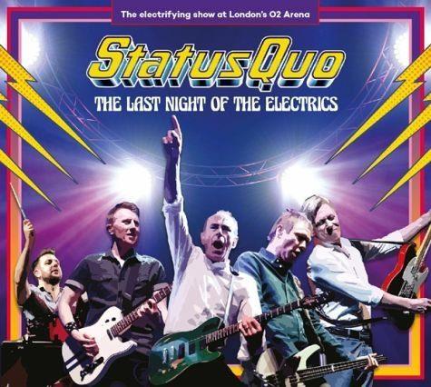 Audio CD »Status Quo: The Last Night Of The Electrics«