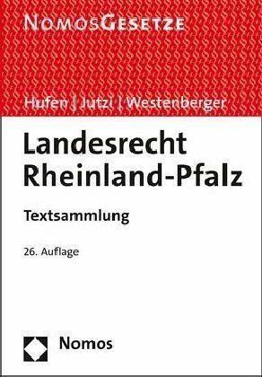 Broschiertes Buch »Landesrecht Rheinland-Pfalz«