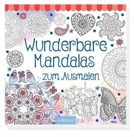Broschiertes Buch »Wunderbare Mandalas zum Ausmalen«