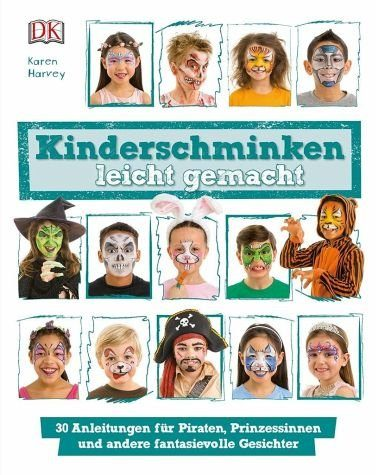 Gebundenes Buch »Kinderschminken leicht gemacht«