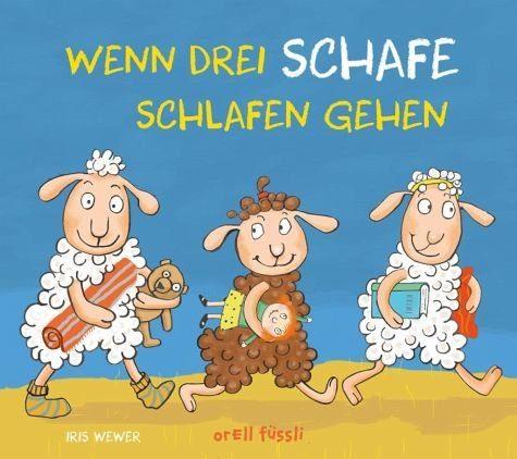 Buch mit Papp-Einband »Wenn drei Schafe schlafen gehen«