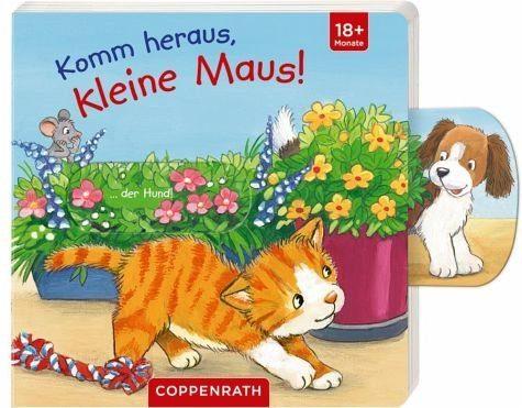 Buch mit Papp-Einband »Komm heraus, kleine Maus!«