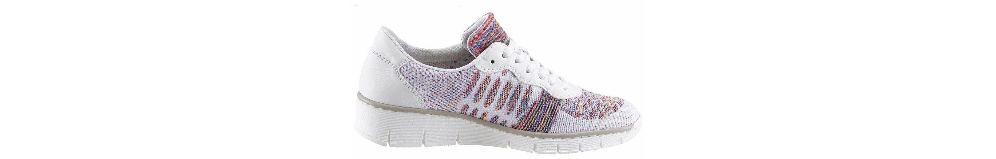 Rieker Sneaker, im Materialmix mit Textil in multicolor