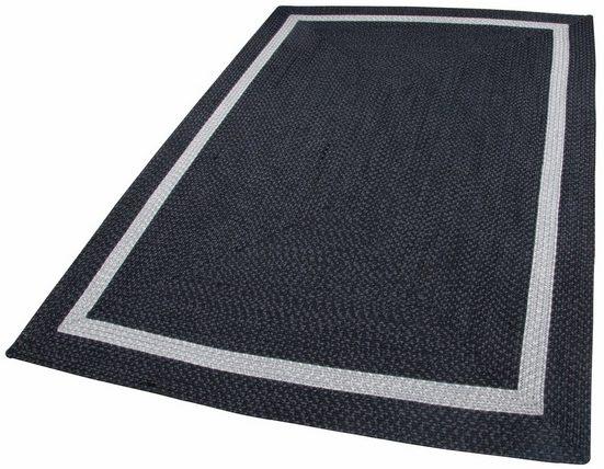 Teppich »Benito«, THEKO, rechteckig, Höhe 6 mm, Flachgewebe, In- und Outdoor geeignet