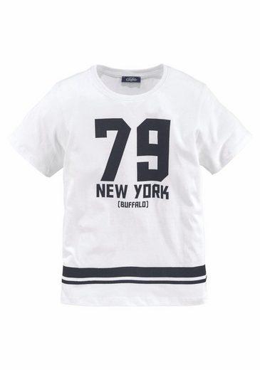 Buffalo T-Shirt »79 NEW YORK« Druck