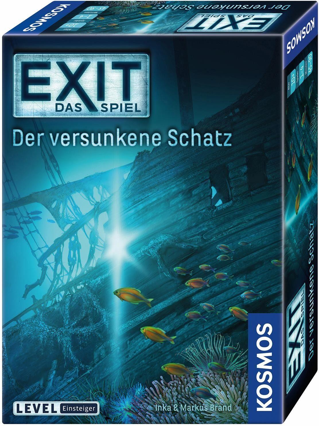 Kosmos Kartenspiel, »Exit, Der versunkene Schatz«