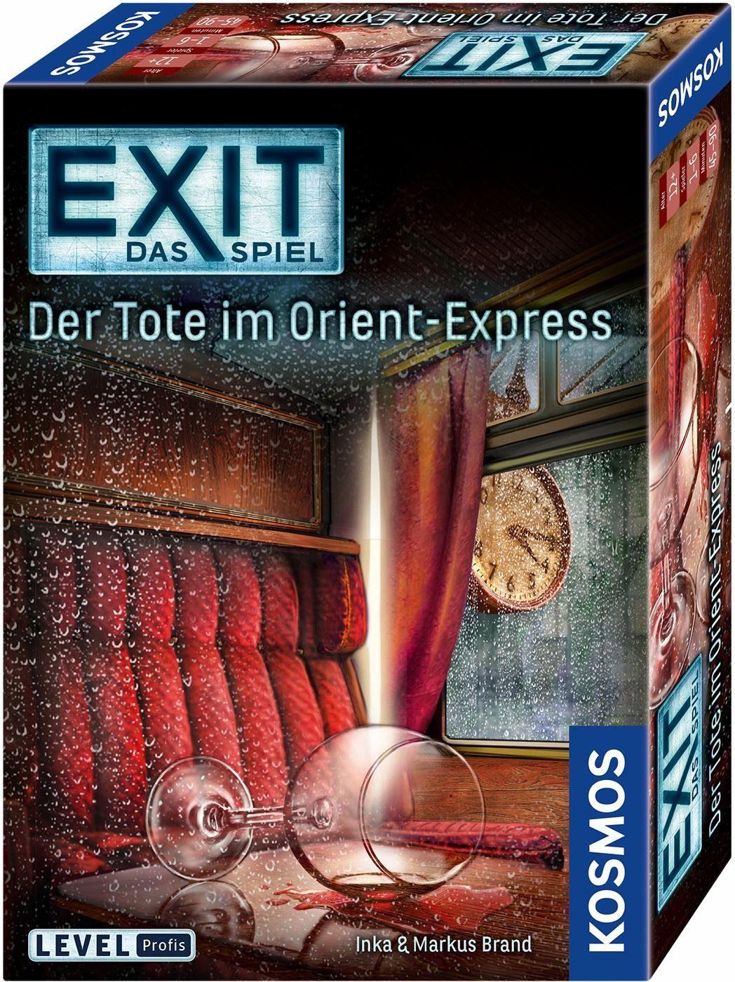 Kosmos Kartenspiel, »Exit, Der Tote im Orient-Express«