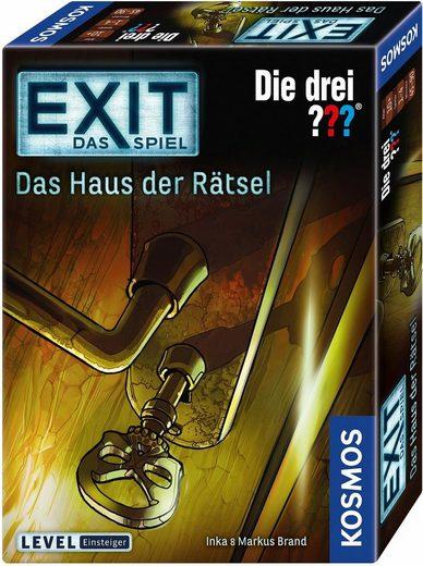 Kosmos Spiel, »Exit, Die drei ???, Das Haus der Rätsel«, Made in Germany
