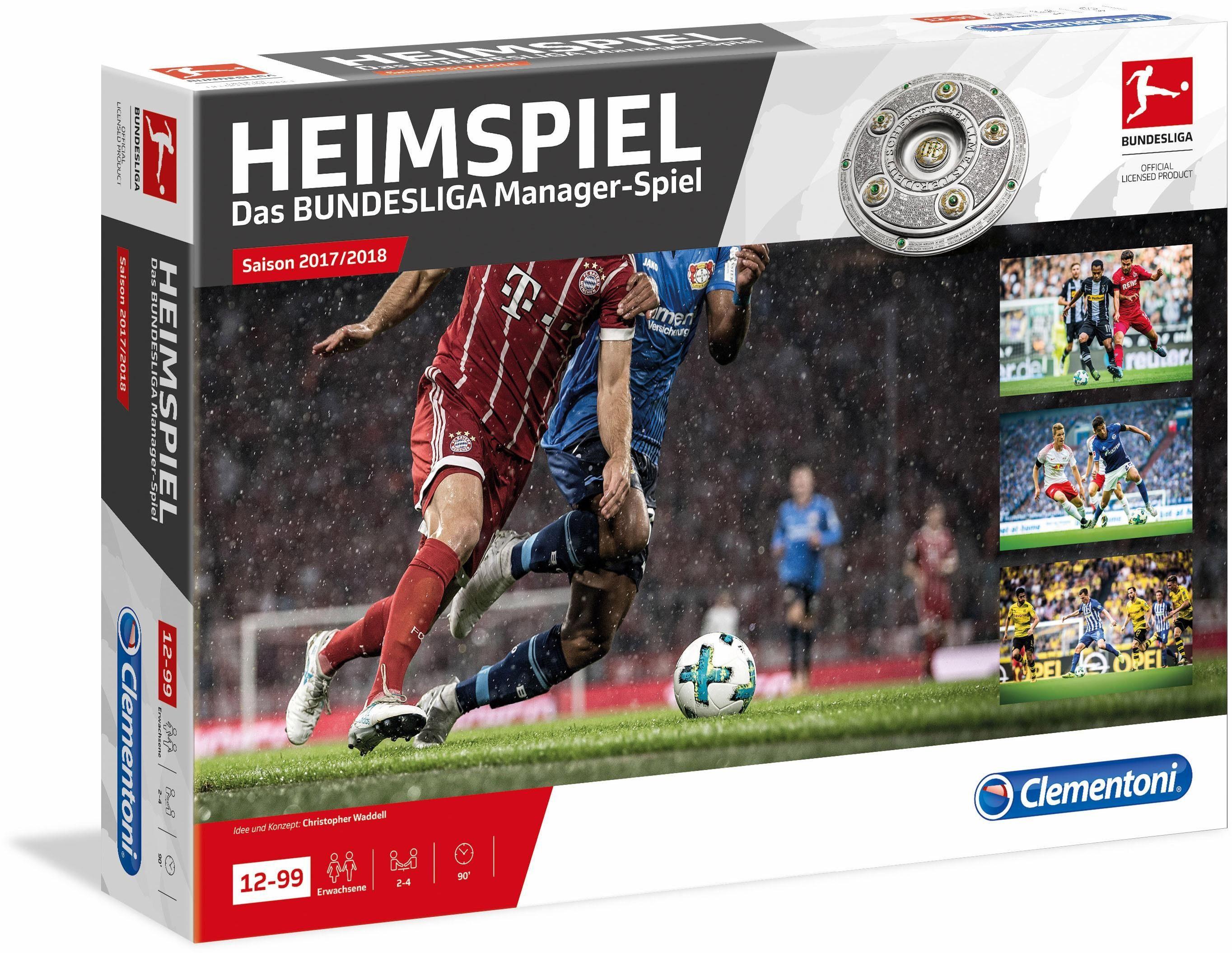 Clementoni Strategiespiel, »Heimspiel Bundesliga Manager-Spiel«