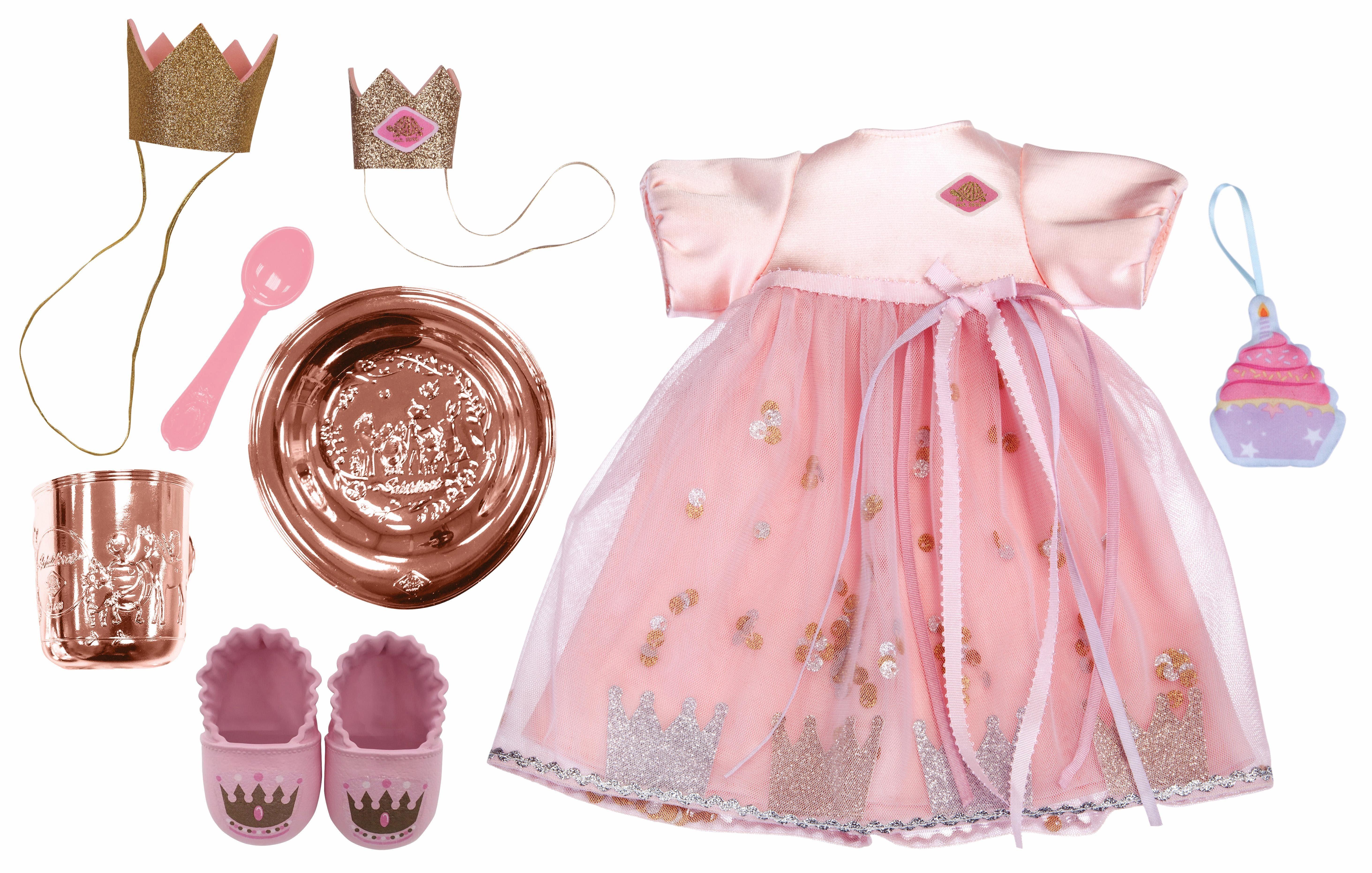 Schildkröt Puppenbekleidung, »Kids - Deluxe Fashion Set »Mein Prinzessinnen Geburtstag««