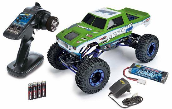 Carson RC Komplett-Set Auto, »X-Crawlee XL, green, 2,4 GHz, 1:10«