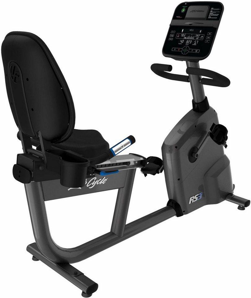 Life Fitness Liege Heimtrainer Mit Track Connect Konsole