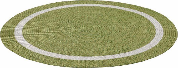 Teppich »Benito«, THEKO, rund, Höhe 6 mm, In- und Outdoor geeignet
