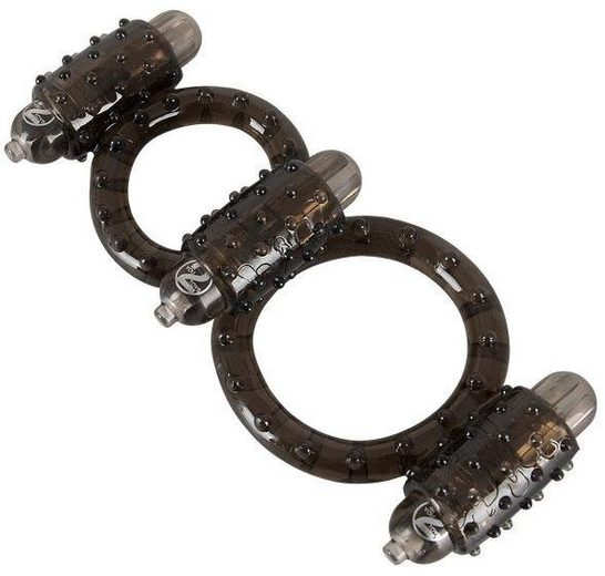 Seven Creations Penis-Hoden-Ring »Cock N Balls Vibro-Harness«