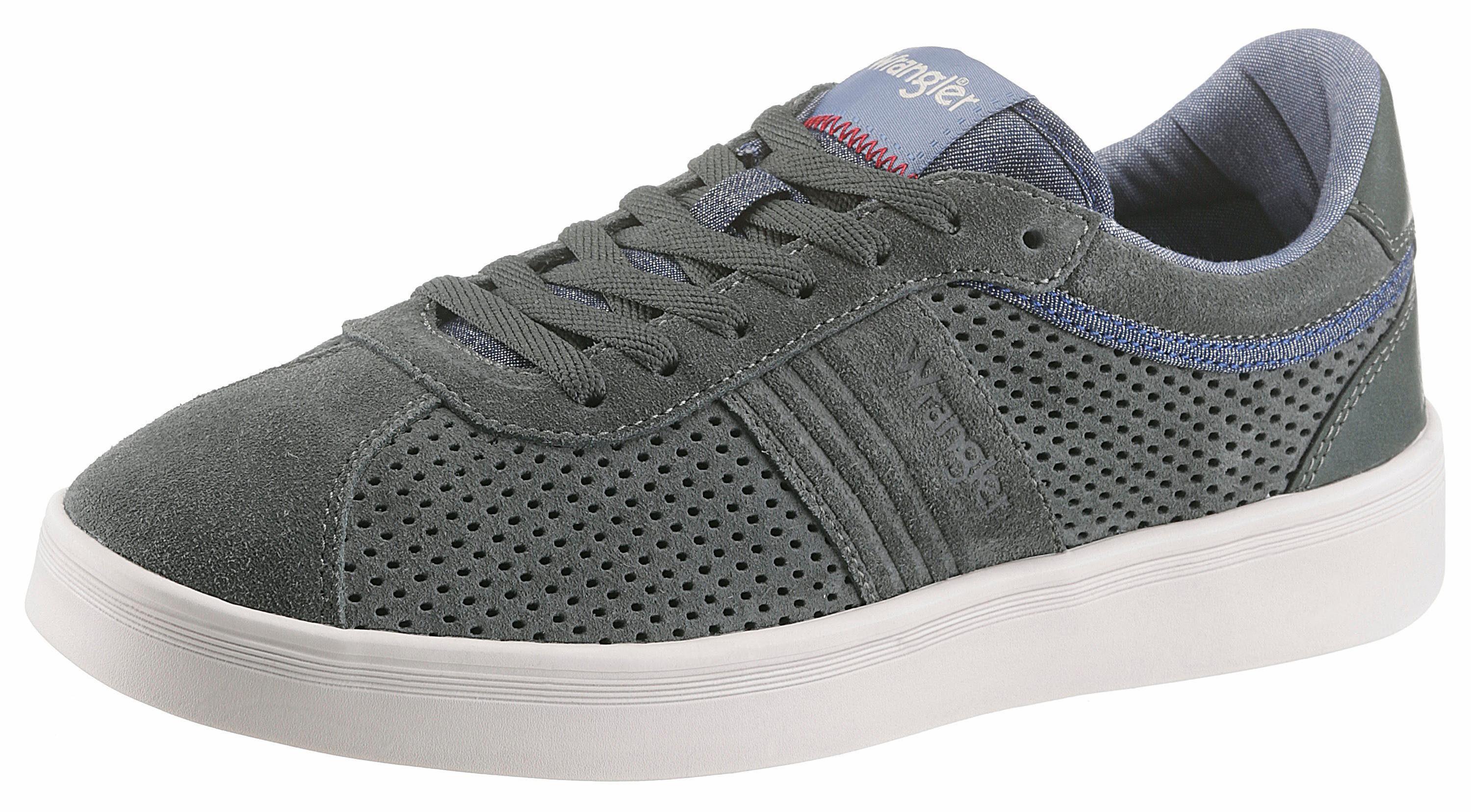Wrangler Micky City Sneaker, mit Memory Foam  graugrün
