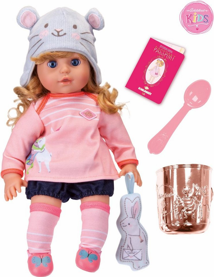 Schildkröt Puppe mit Zubehör, »Kids, Emilia Trendy«