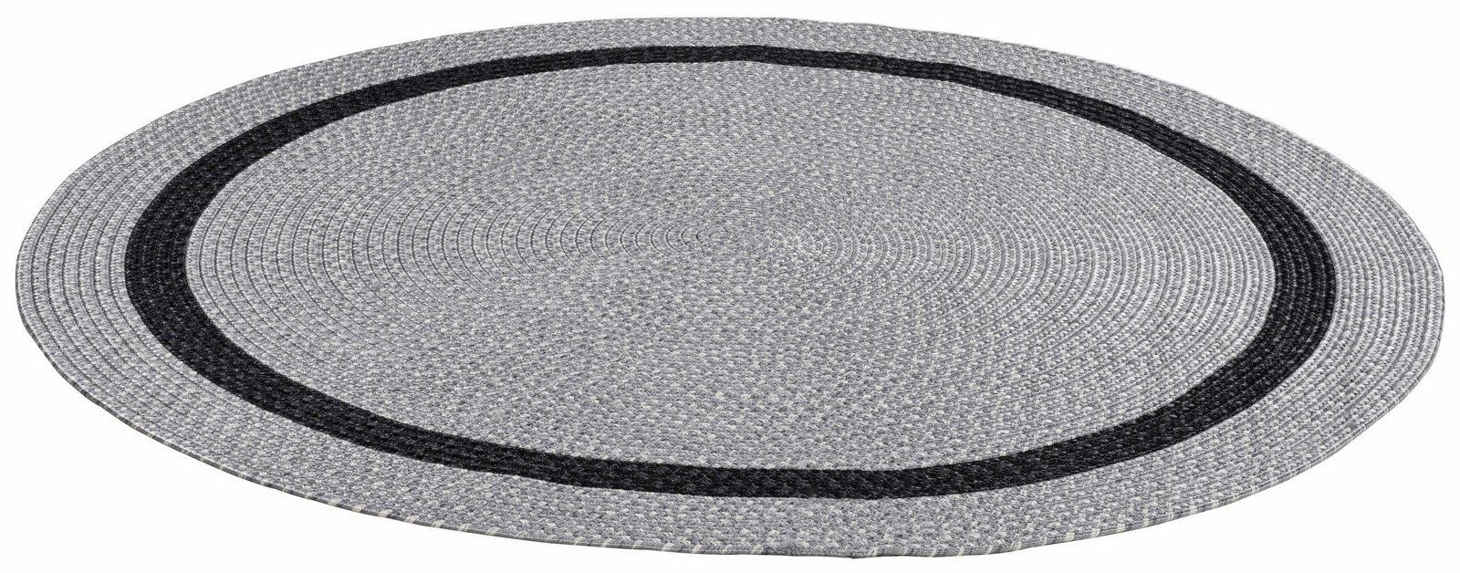 Teppich »Benito«, THEKO, rund, Höhe 6 mm