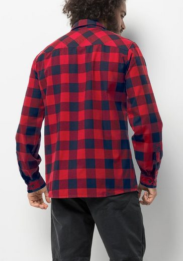 Jack Wolfskin Karohemd RED RIVER SHIRT