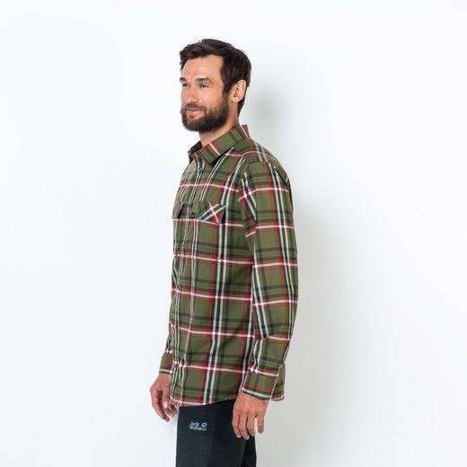 Funktionshemd Men Valley Jack Shirt Wolfskin 5wqwxFpP