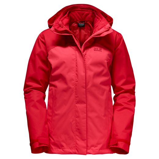 Jack Wolfskin 3-in-1-Funktionsjacke ECHO BAY WOMEN