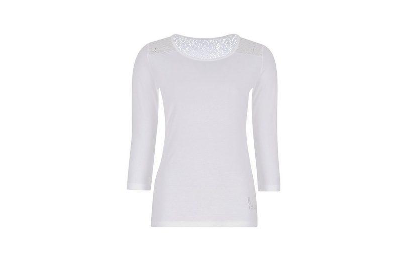TRIGEMA Spitzenshirt mit Swarovski® Kristallen Preiswerte Reale Kosten Günstig Online hDDzpP3