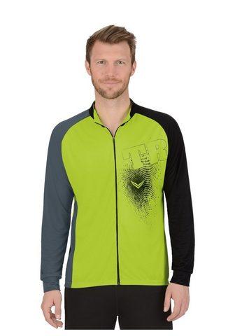 TRIGEMA Ilgomis rankovėmis marškinėliai Švarke...