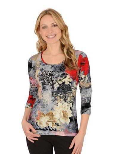 TRIGEMA Shirt 3/4 Ärmel aus Viskose