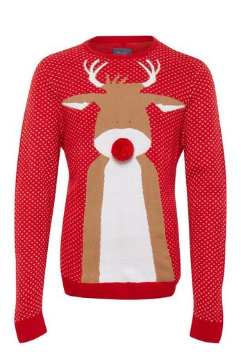 Blend Strickpullover Christmas knit