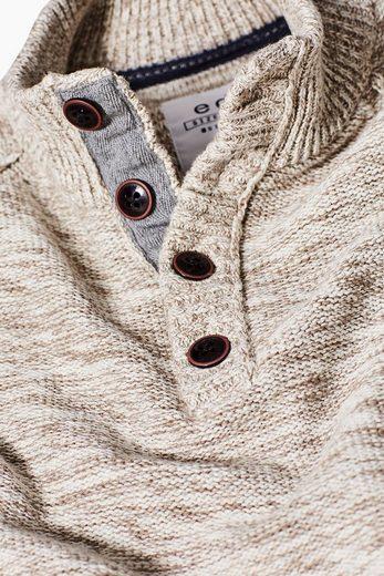 EDC BY ESPRIT Strick-Pullover, 100 % Baumwolle