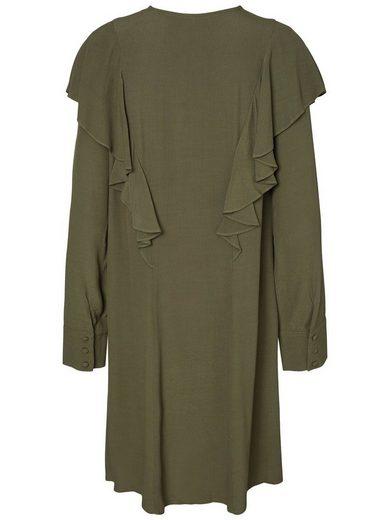 Y.A.S Volantdetail- Kleid
