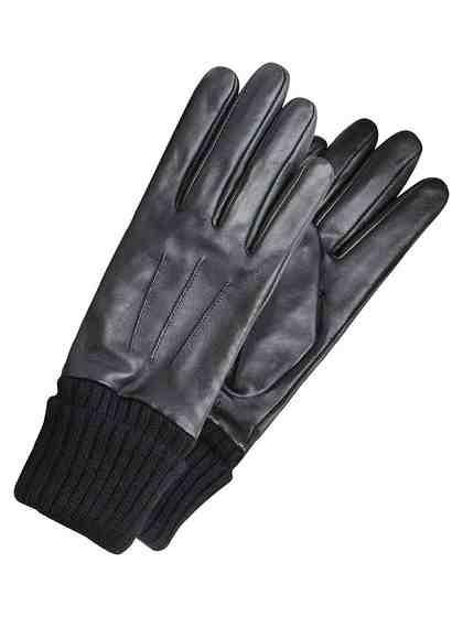 Pieces Leder Handschuhe
