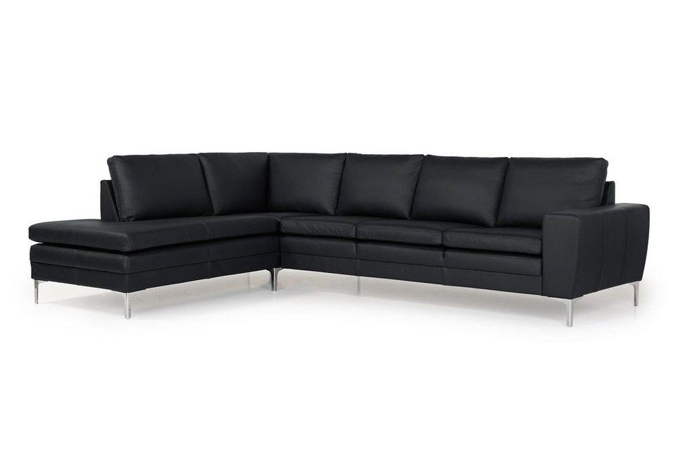 ebuy24 Sofa »Stenbjerg Ecksofa linkswendig echtes Leder ...