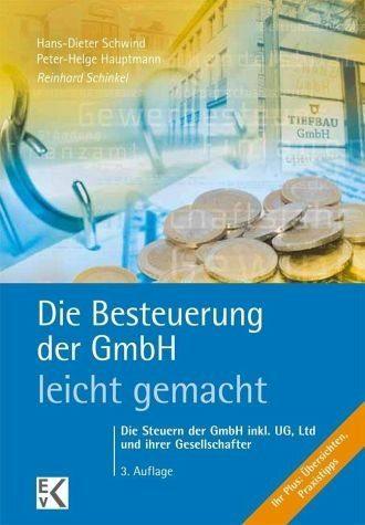 Broschiertes Buch »Die Besteuerung der GmbH - leicht gemacht«