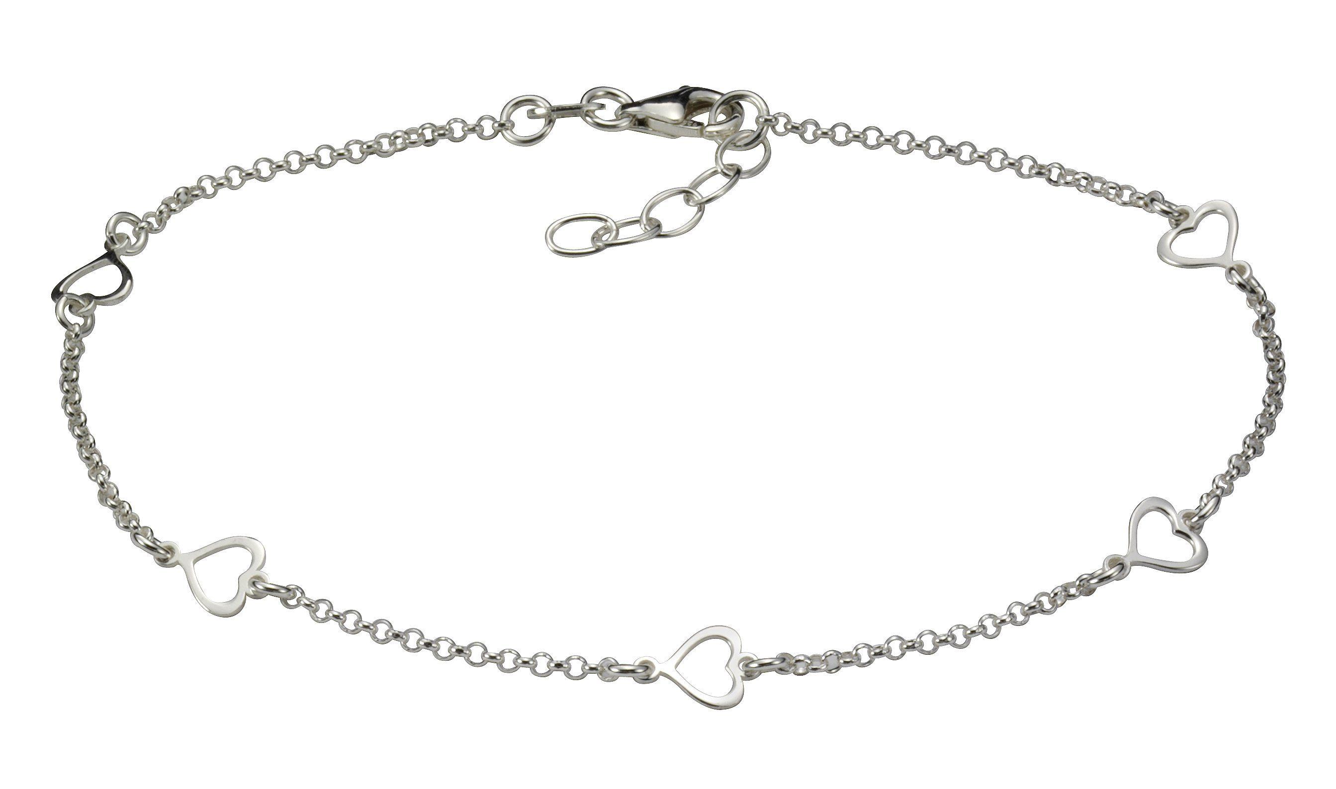 Firetti Fusskette »925/- Sterling Silber rhod.«