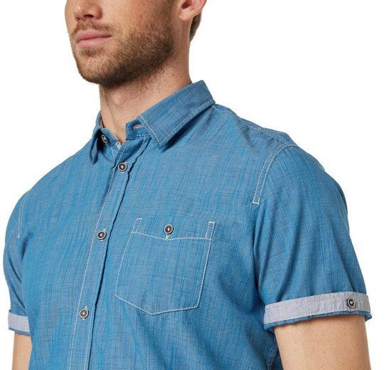 Tom Tailor Kurzarmhemd mit feiner Struktur